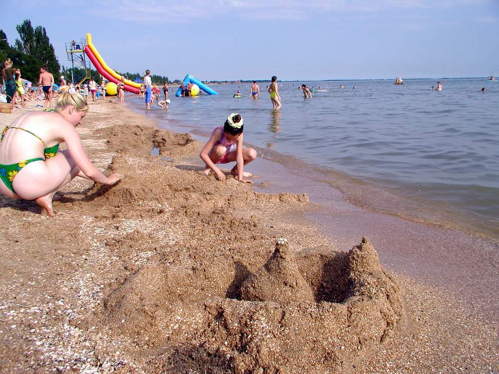 Азовское море в Бердянске