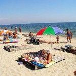Отдых в Бердянске на пляже