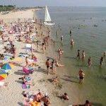 Третий пляж - недалеко от гостиницы Бристоль, Бердянск