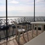 вид на море с лоджии номера отеля Бристоль