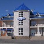 Отель Бристоль на берегу моря в Бердянске