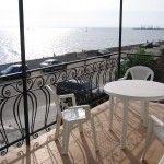 Вид на море из номера отеля